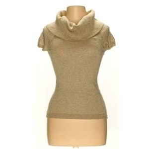 Cashmere blend Express S M cowl neck sweater top